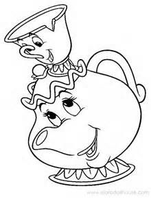 Mother's Day Teapot Card Template – Coloring Page   300x220