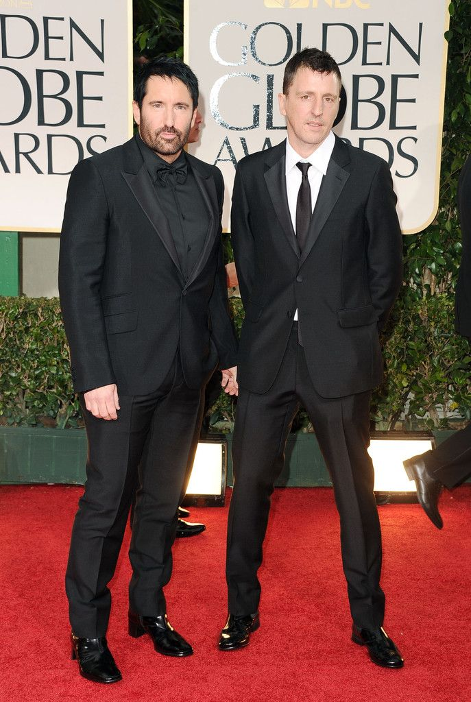 Trent's shoes are crazy! Golden globes, Golden globe