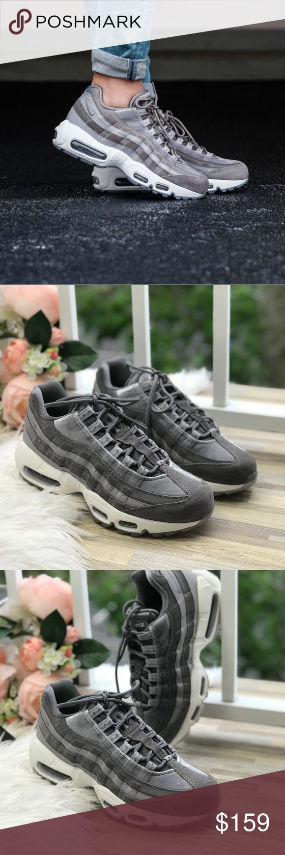9da3395ad3 NWT Air Max 95 LX Gunsmoke WMNS Brand new with box, no lid. Price is ...