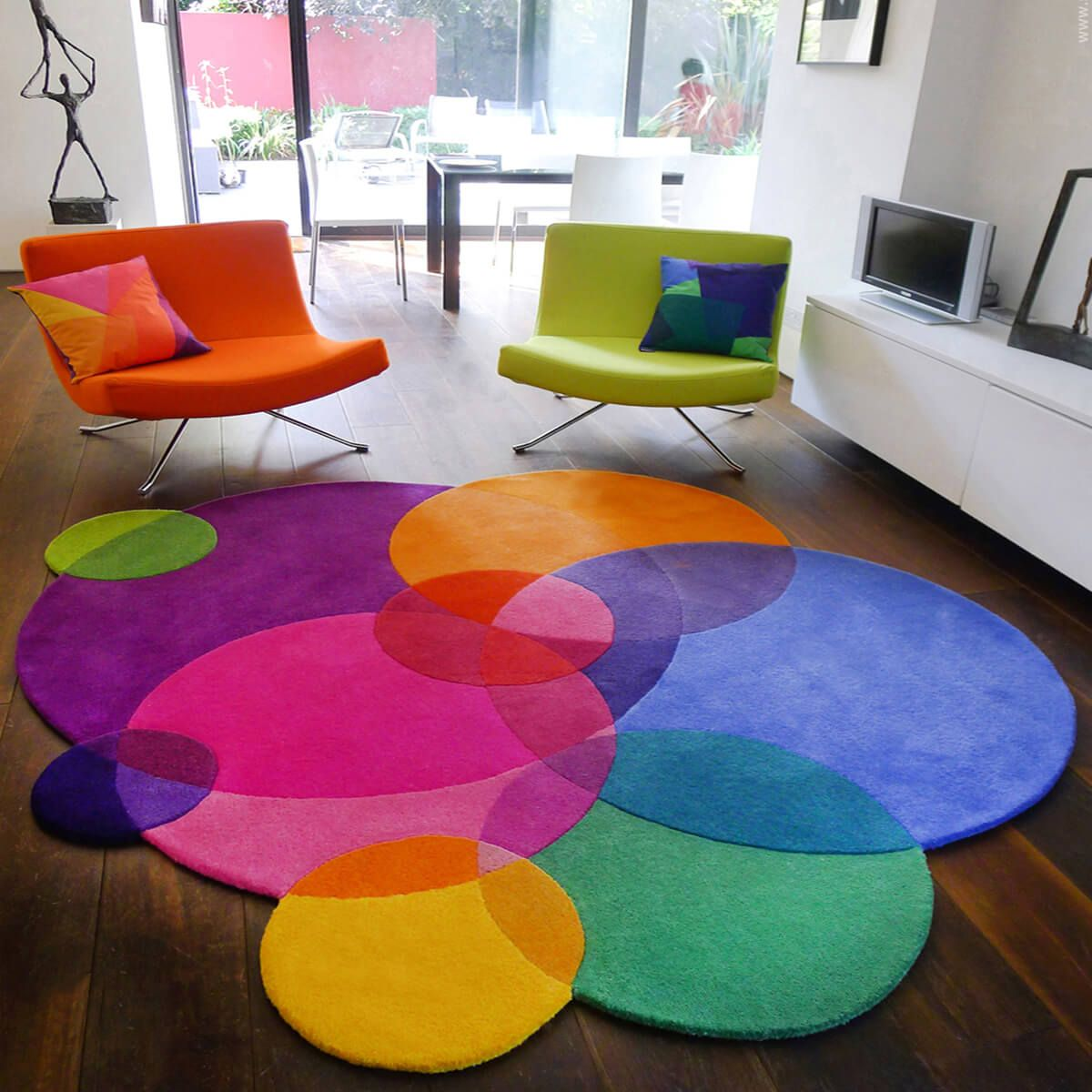 Bubbles Luxury Designer Rug In 2020 Decor Room Decor Colorful Interiors