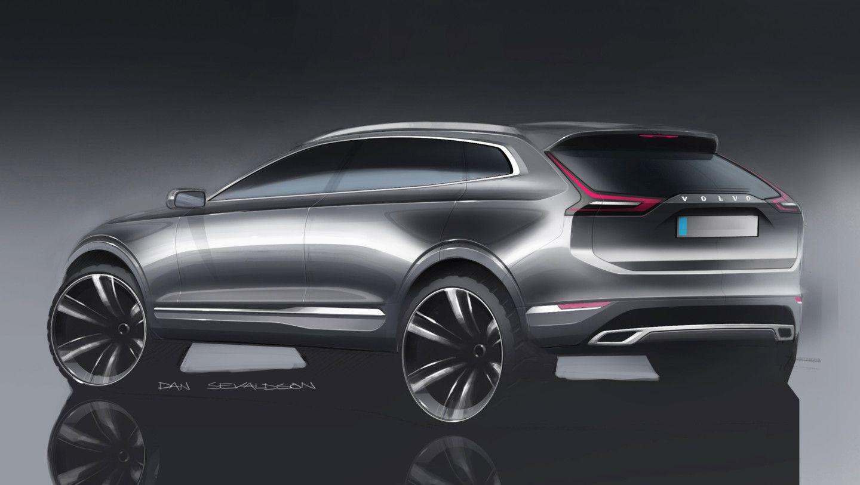 2018 Volvo Xc60 Dan Sevaldson Sketch Car Design Sketch