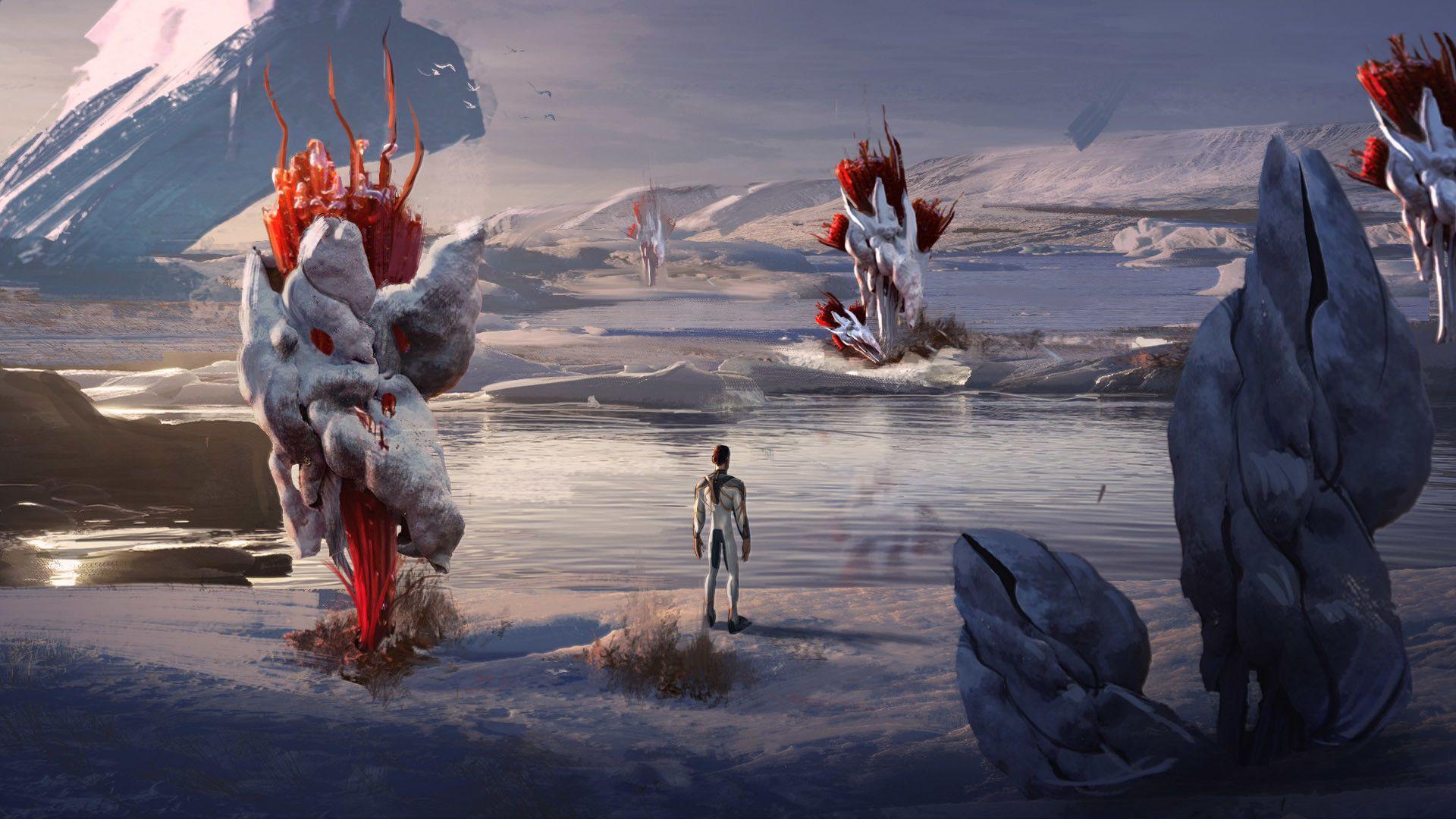 Artstation Subnautica Below Zero Concept Art Fox3d