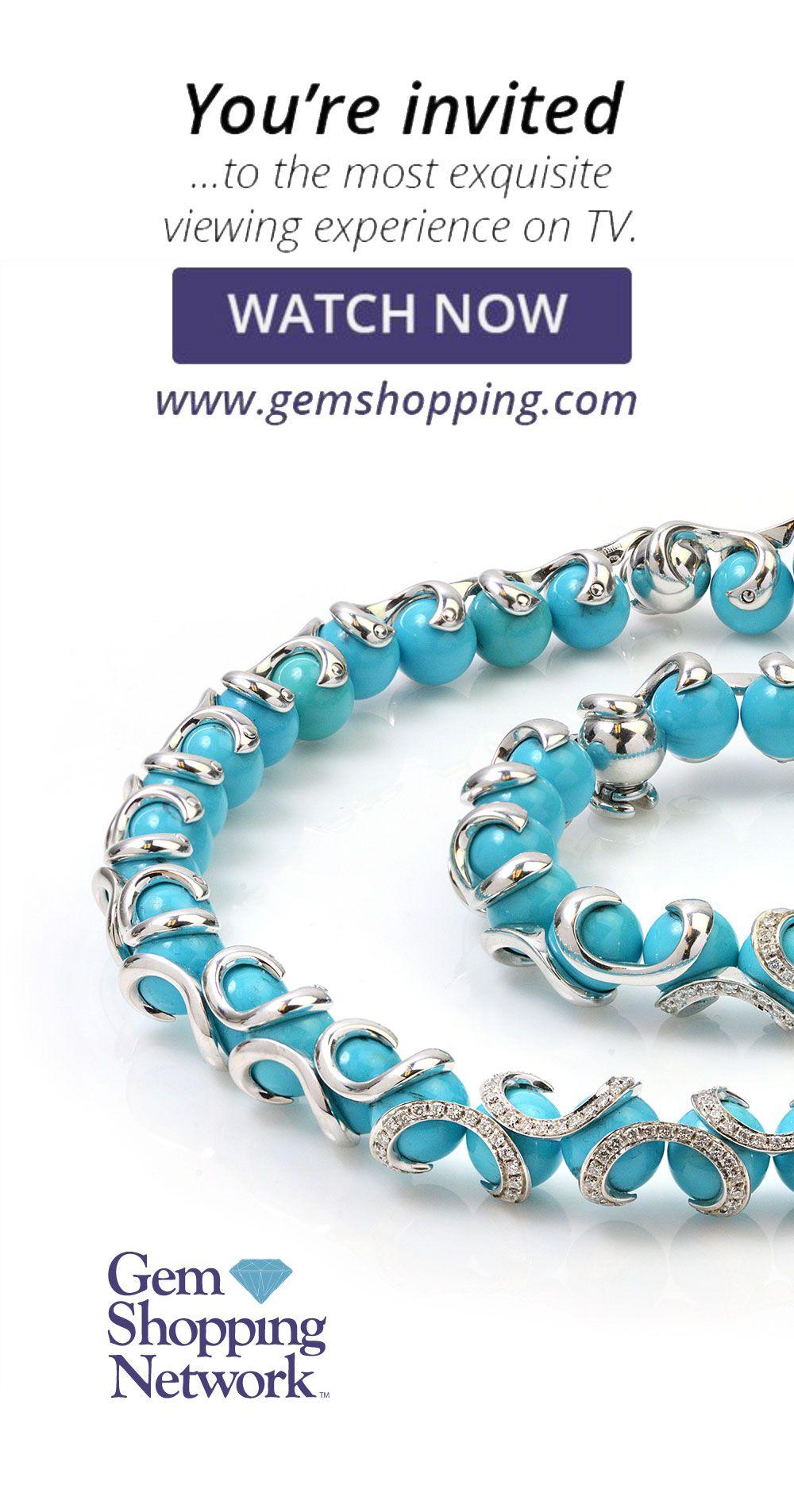 Turquoise Beads Diamond 18k White Gold Necklace Bracelet Set