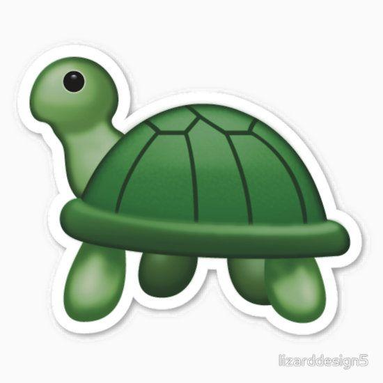 Insert Turtle Emoji Here Sticker By Lizarddesign5 In 2021 Emoji Stickers Emoji Turtle