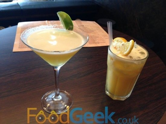 Roasted Pineapple Margarita The Floozy From Dog Bowl Manchester
