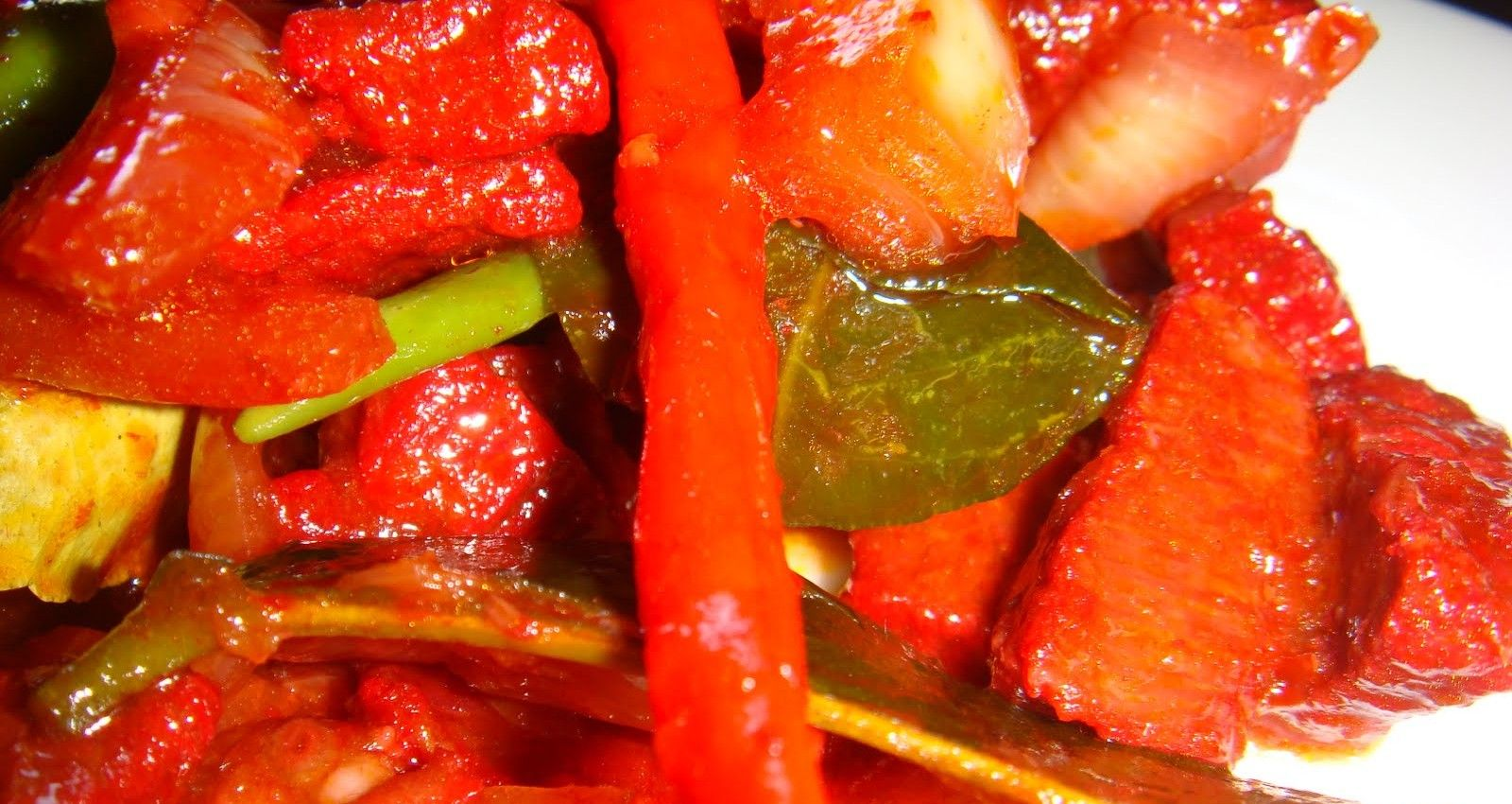 Daging Merah Ala Thai - Resepi Mudah dan Ringkas   Savoury ...