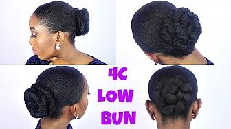 How To High Bun With Marley Hair On A Short Natural Hair 3 Unique Styles Youtube Natural Hair Styles Short Natural Hair Styles 4c Natural Hair