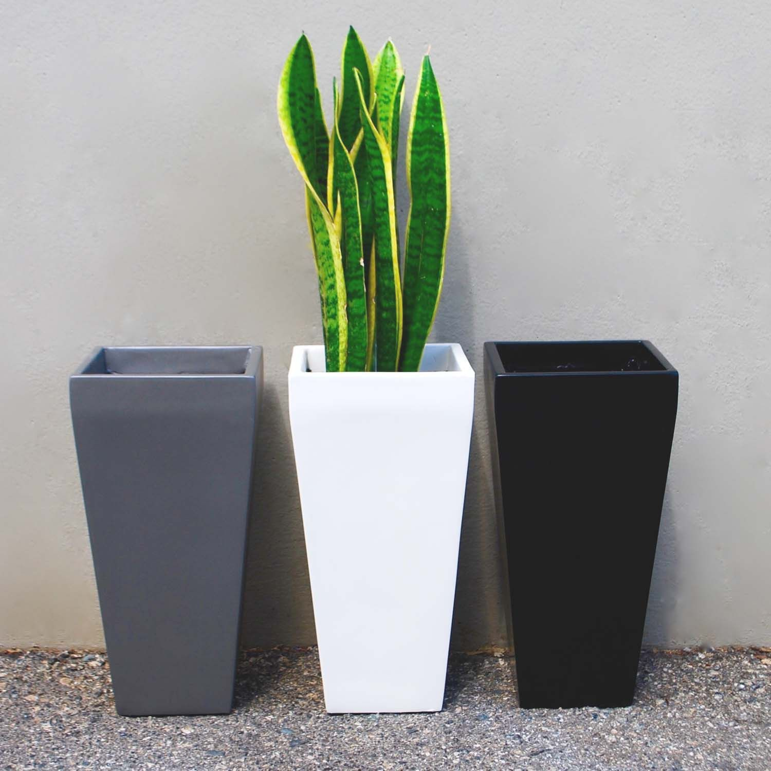 The Windsor Tall Square Planter Will Make A Statement In