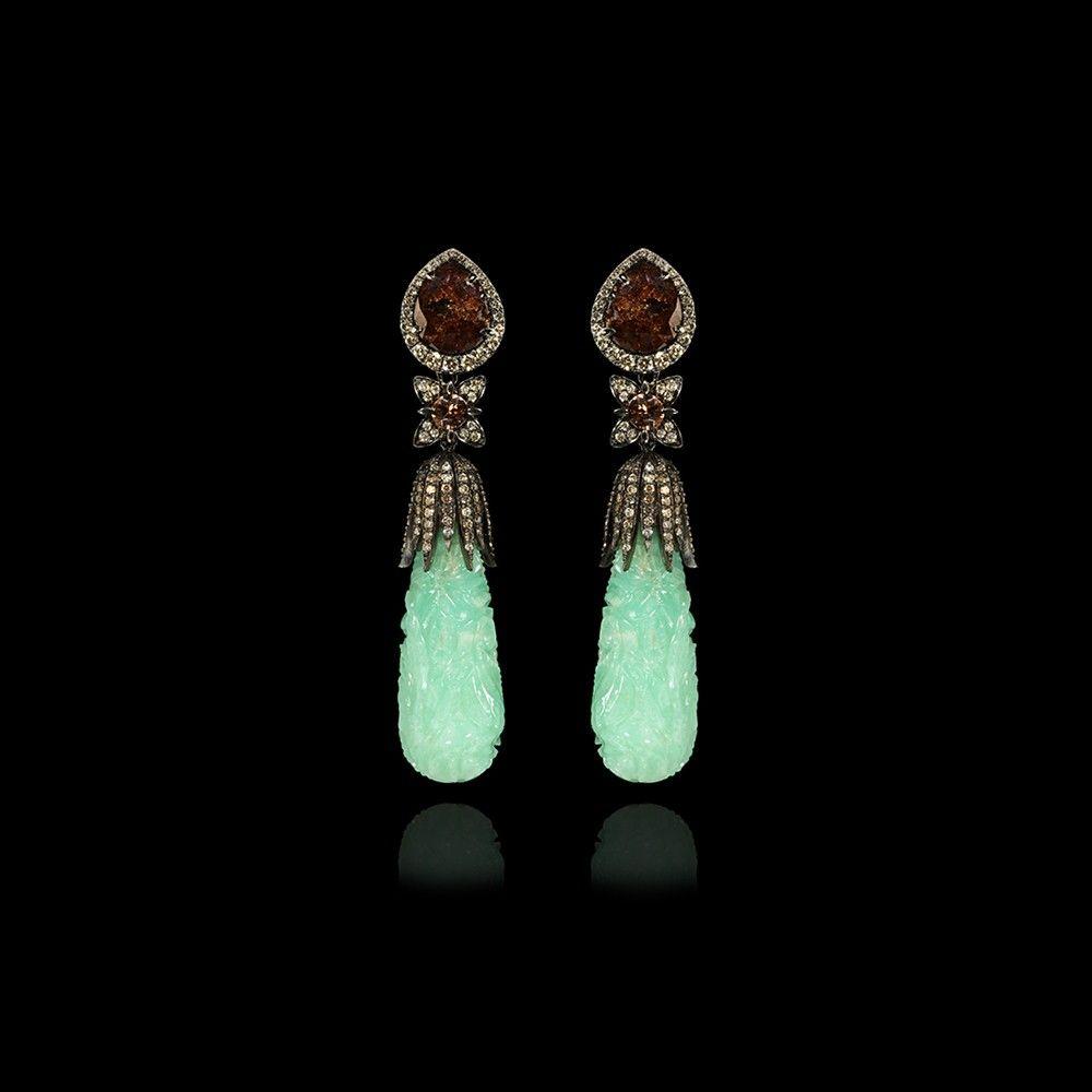 Annoushka Chrysoprase Earrings Fine Jewellery Designer Jewellery