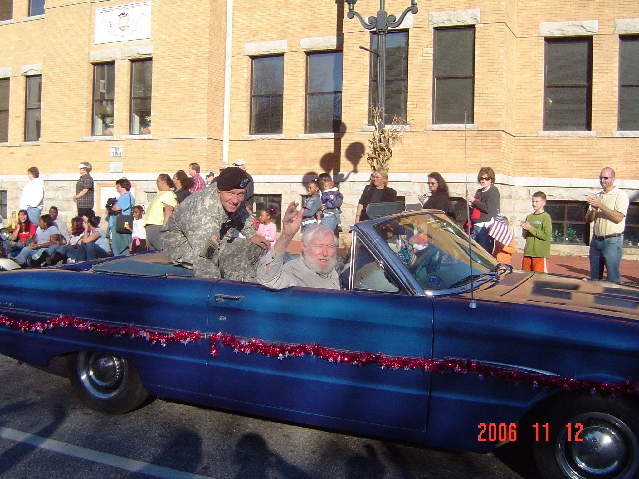 Anderson SC, Veterans Day Parade Veterans day, Anderson