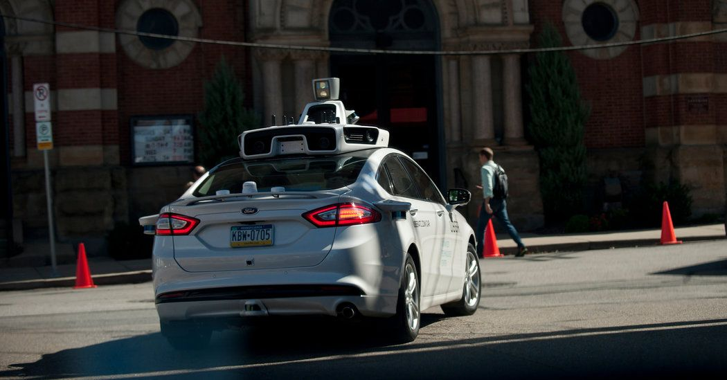 """""""As SelfDriving Cars Near Washington Plays CatchUp"""" by"""