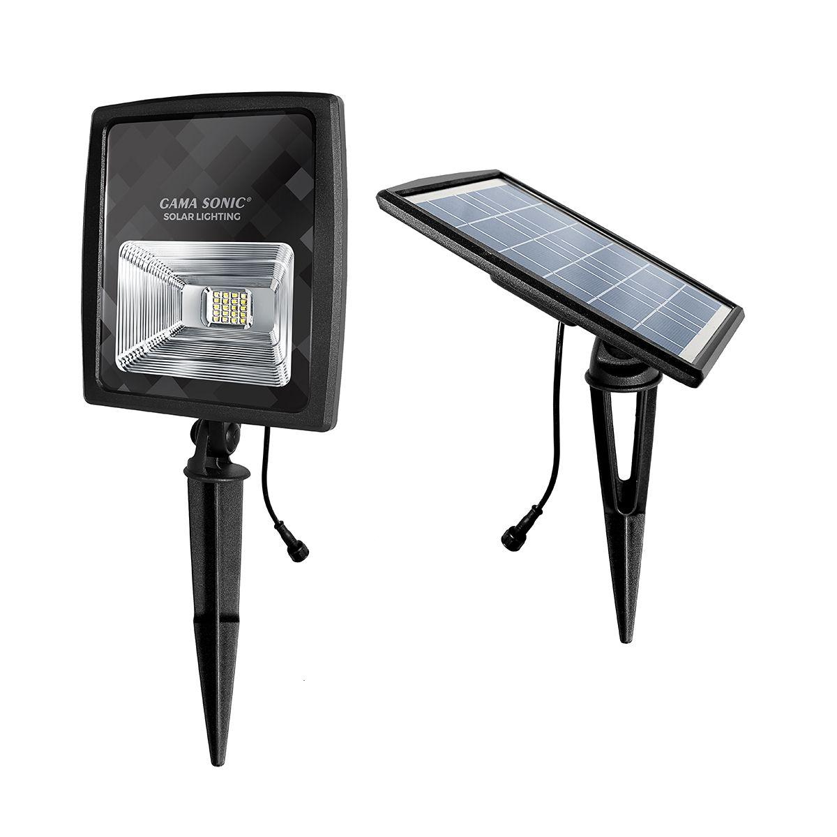 Gama Sonic Gs 203 Solar Flood Light 250 Lumens Greenlytes In 2021 Solar Flood Lights Flood Lights Solar Powered Flood Lights Solar powered flood light dusk to dawn