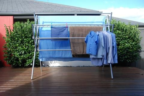 Clothes Airer, Clothes Dryer, Clothes Drying Rack. Portable, Lightweight Washing  Line Laundry