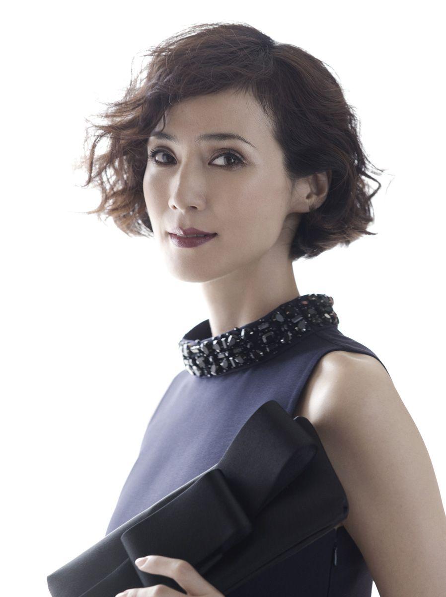 安田成美 02 Makoto Nakagawa Aosora Hair Beauty Girl
