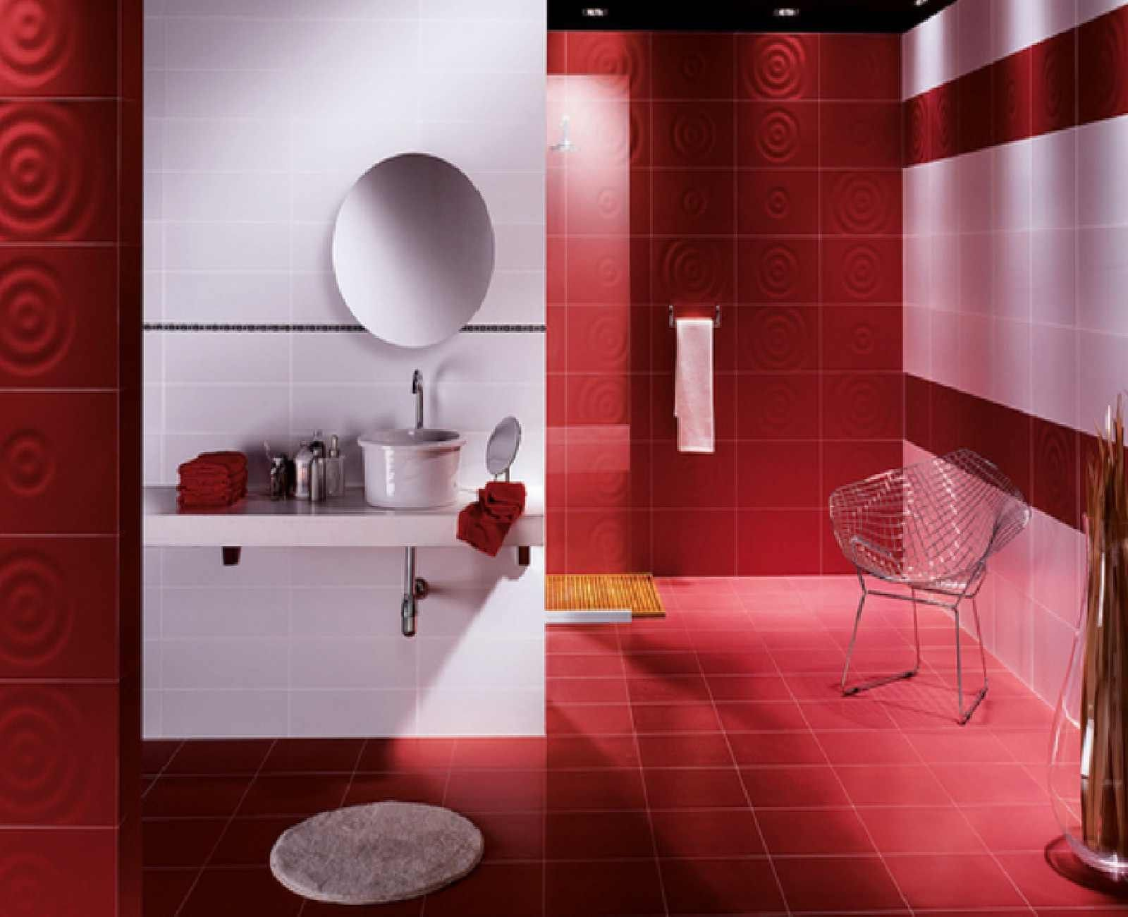 Wall Tile Decorating Ideas Red Bathroom Decorating Ideas 7  Httproomdecoratingideas