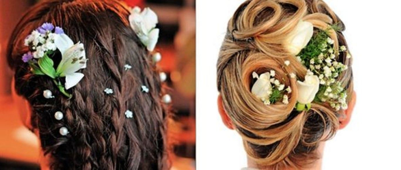 indian-wedding-hairstyles-for-thin-hair (1366×579) | brides thin