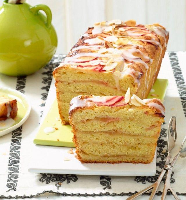 Saftig und lecker: Der Apfel-Schichtkuchen #cakesanddeserts