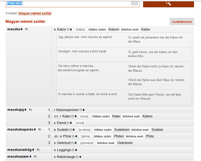 önéletrajz németül szótár 2 legjobb online német magyar szótár | Német nyelvtanulás | Pinterest önéletrajz németül szótár