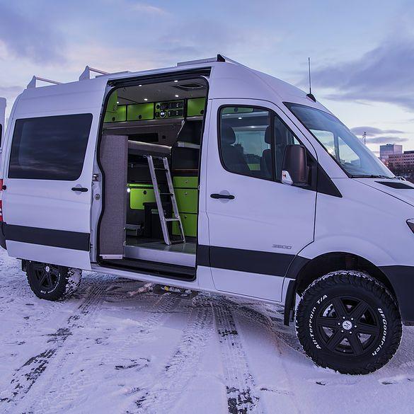 Alaska Camper Van Conversions Gallery Ford transit