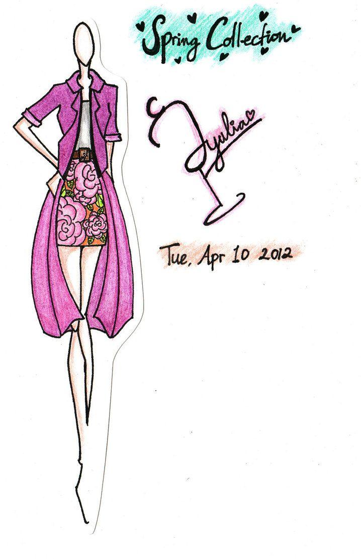 Spring Fashion Illustration by CYuJinI on deviantART