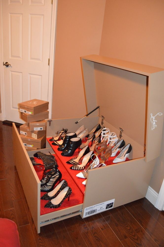 shoe box storage custom christian louboutin shoe box my apartment 12928