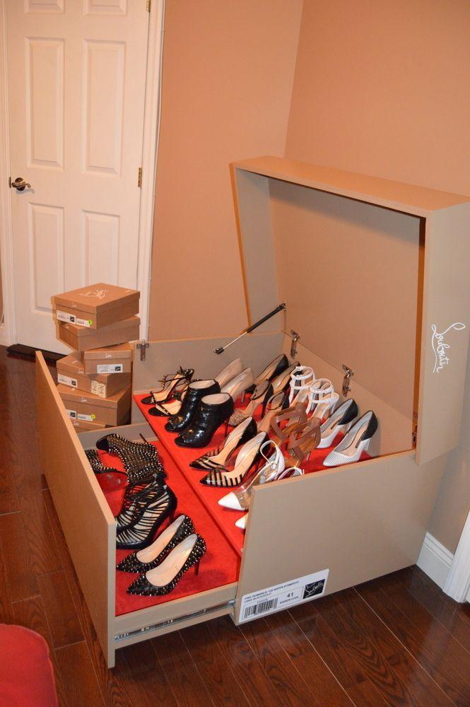 Délicieux Boite De Rangement Pour Chaussures #14: Boîte De Rangement Pour Chaussures. - Storage Box For Shoes.