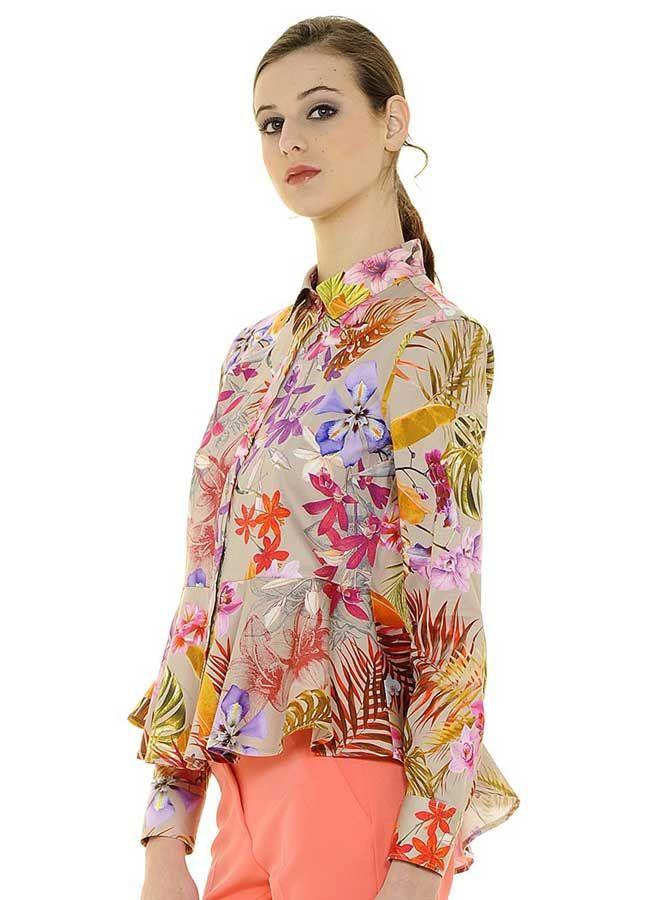 Nara Estate 2019CatalogoFloral Camicie Primavera Tops tshCrdxQ