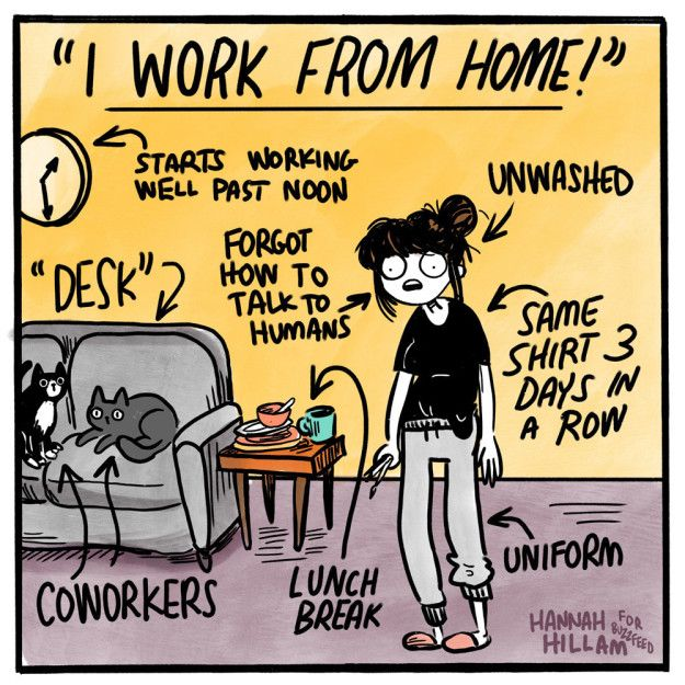 13 Comics That Get You If You Re Just Having A Rough Time Work Quotes Funny Work Humor Working From Home Meme