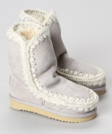 144bc5f754 Take a look at this Lunar Rock Eskimo Boots by Mou on  zulily today ...