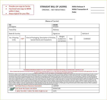 Bill Of Lading Template Google Docs Brochure Template Word Template Free Brochure Template