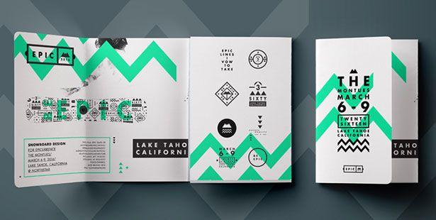 simple brochure design ideas