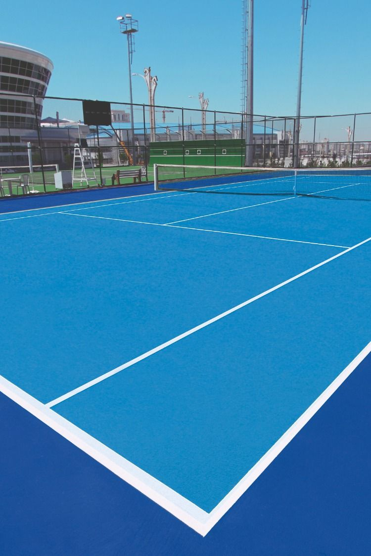 Tennis Court Color Court Flooring Tennis Court Tennis