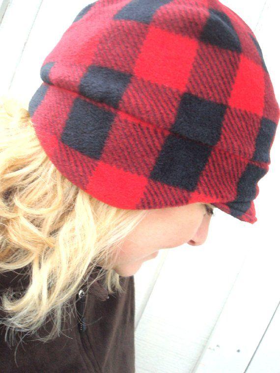 Buffalo Plaid Fleece Hat e67984ab2e