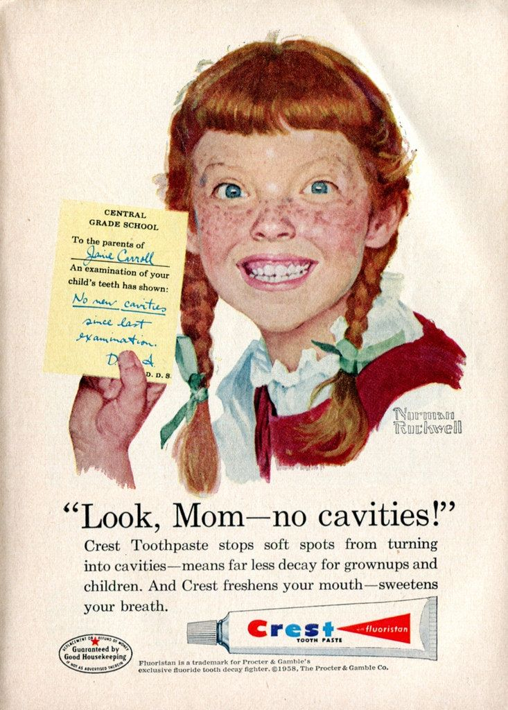 1958 Crest Toothpaste Advertisement Readers Digest June