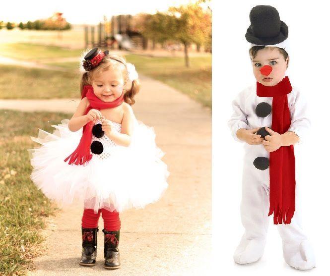 Disfraz original de mu eco de nieve disfraces disfraz - Disfraces navidenos para ninas ...