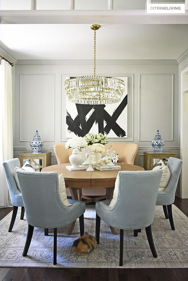 Summer Dining Room Decorating Citrineliving Dining Room Design Dining Room Small Dining Room Decor Beautiful dining room decorating ideas
