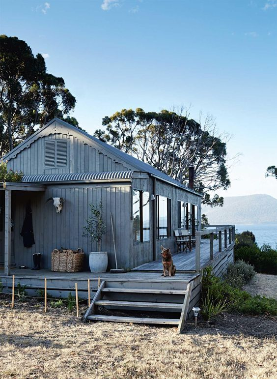 "melbripley ""Summer Cottage in Tasmania via Homelife """