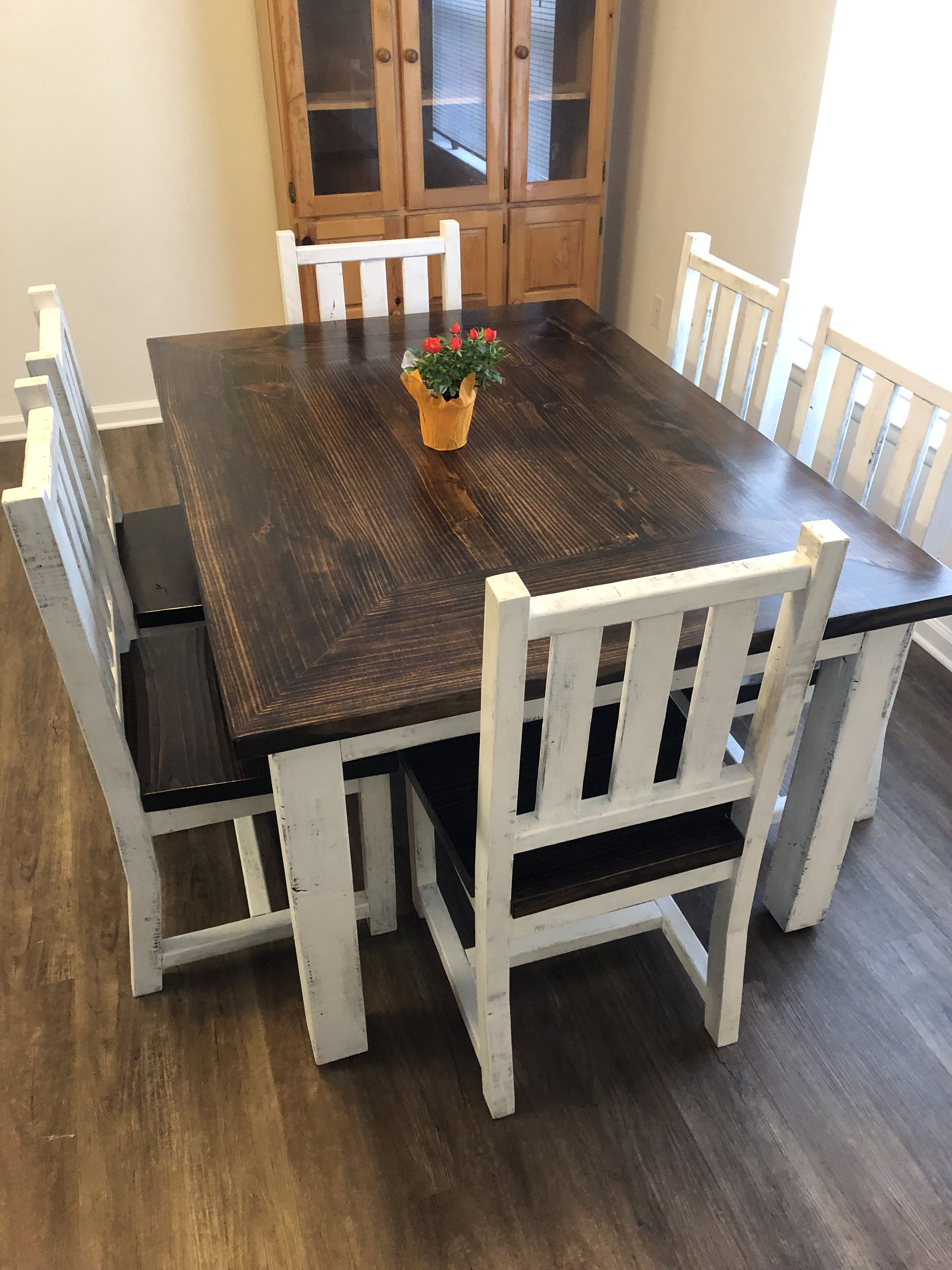 How To Build 6 Farmhouse Style Chairs Dining Room Chairs Diy Rustic Dining Room Chairs Farmhouse Style Chairs