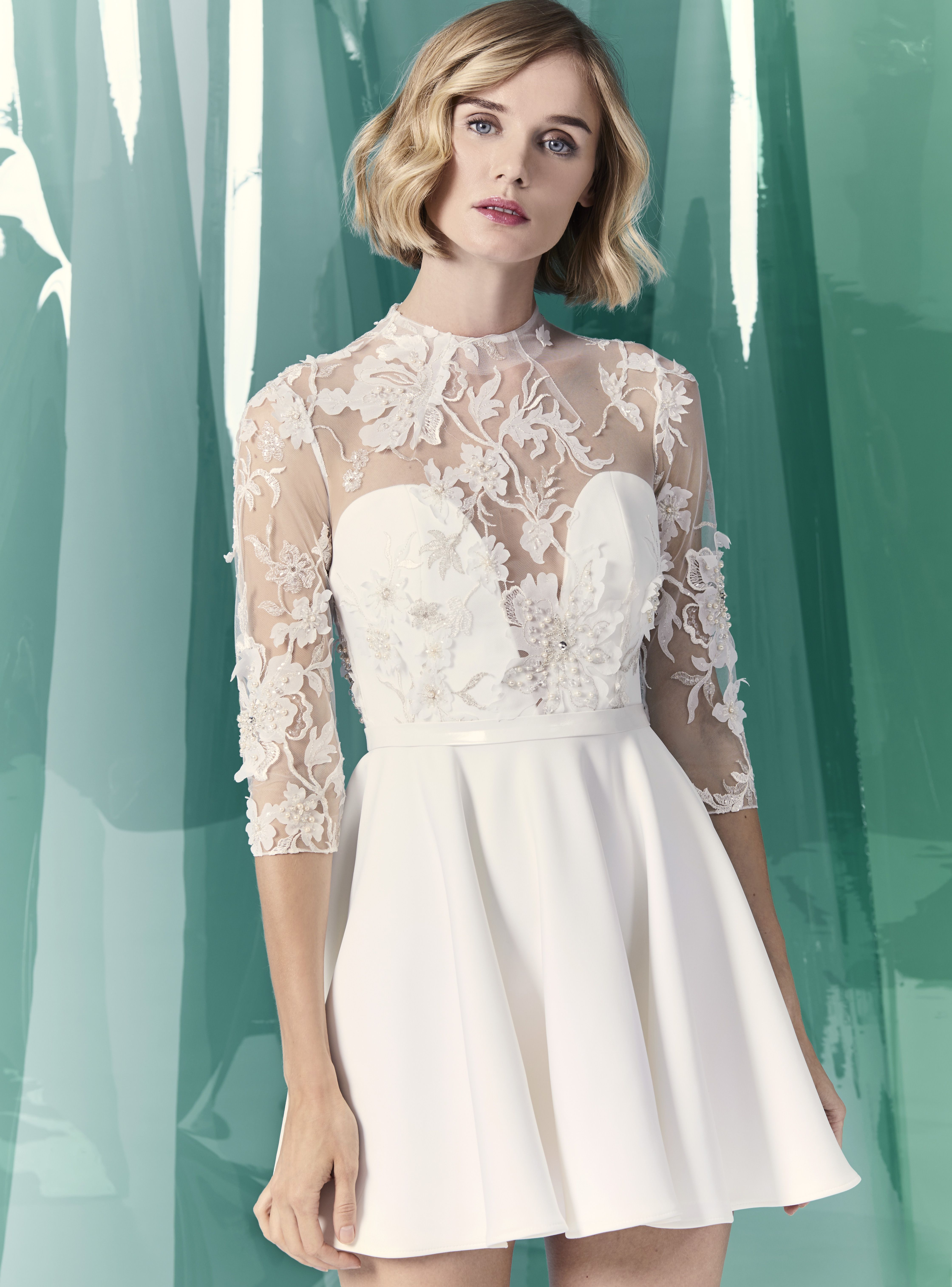 The best short and tea length wedding dresses for 2020