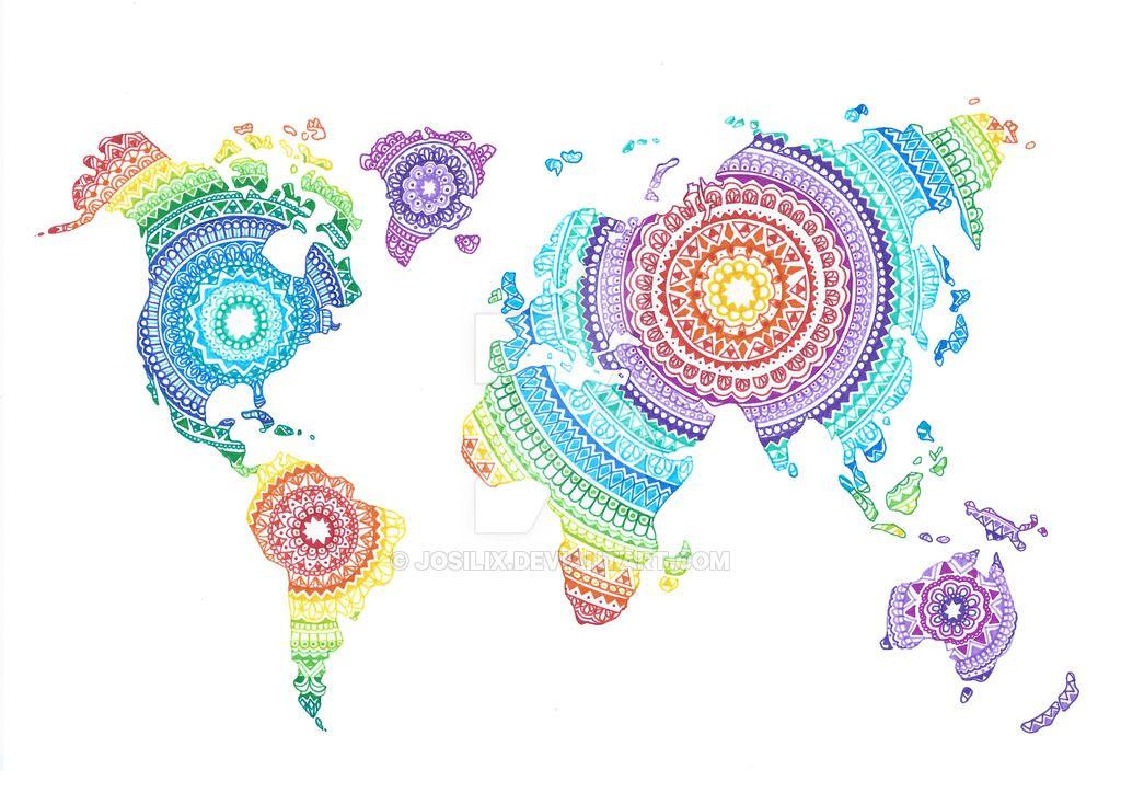 world_map_mandala_by_josilix-d9oa27l.jpg (1024×724)