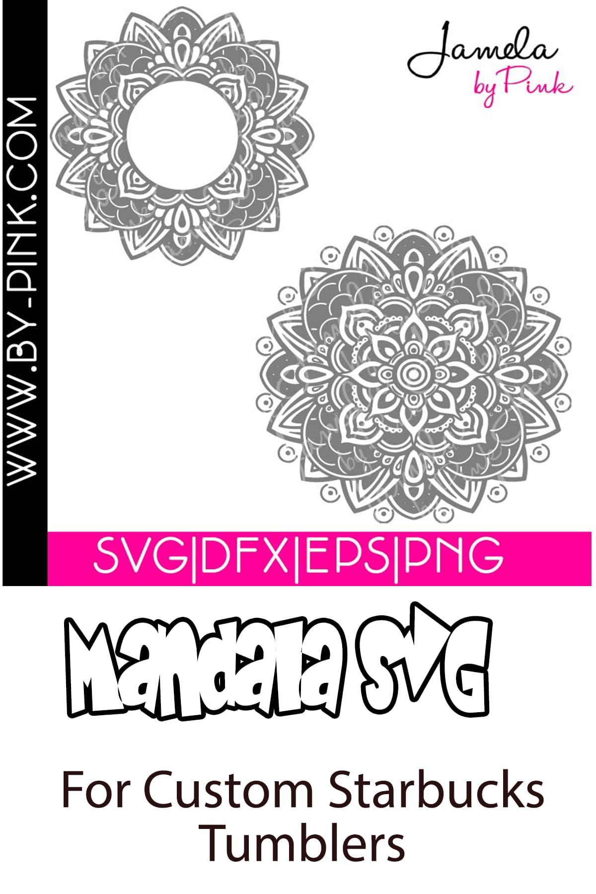 Mandala SVG For A Custom Starbucks Cup Custom starbucks