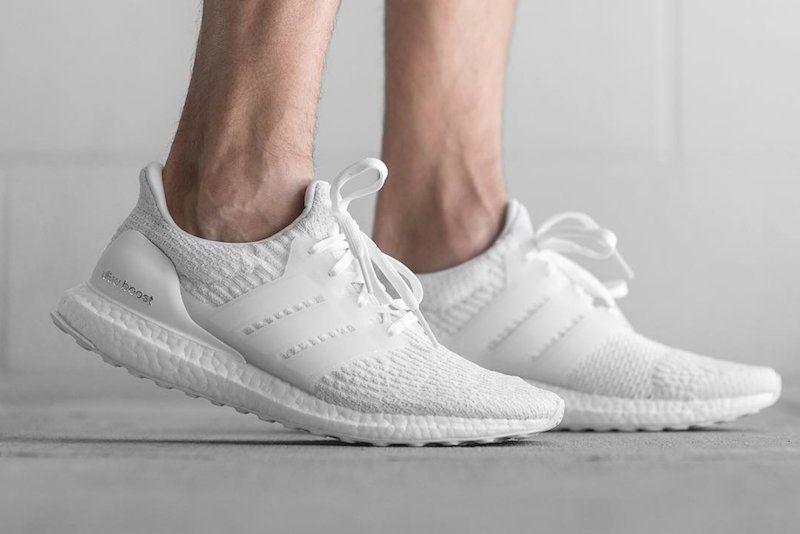 adidas Ultra Boost 3.0 Triple White | Kicks in 2019 | Adidas