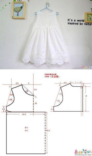 Moldes y Diseño de Ropa Infantil