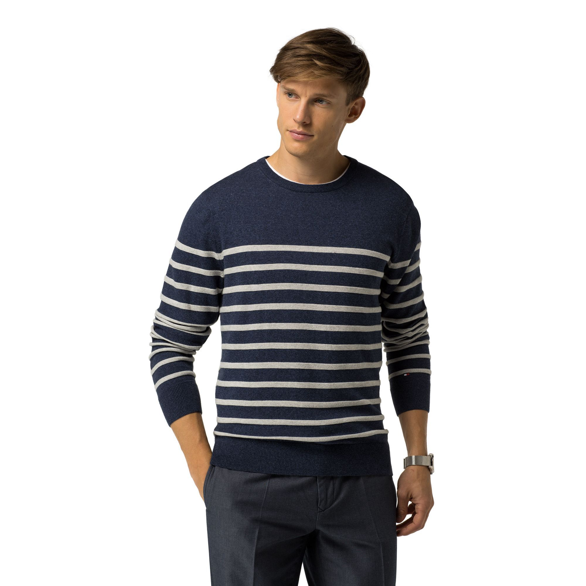 MEN/'S NAUTICA LONG SLEEVE CREWNECK SWEATER VARIETY SIZE /& COLOR! SALE NEW