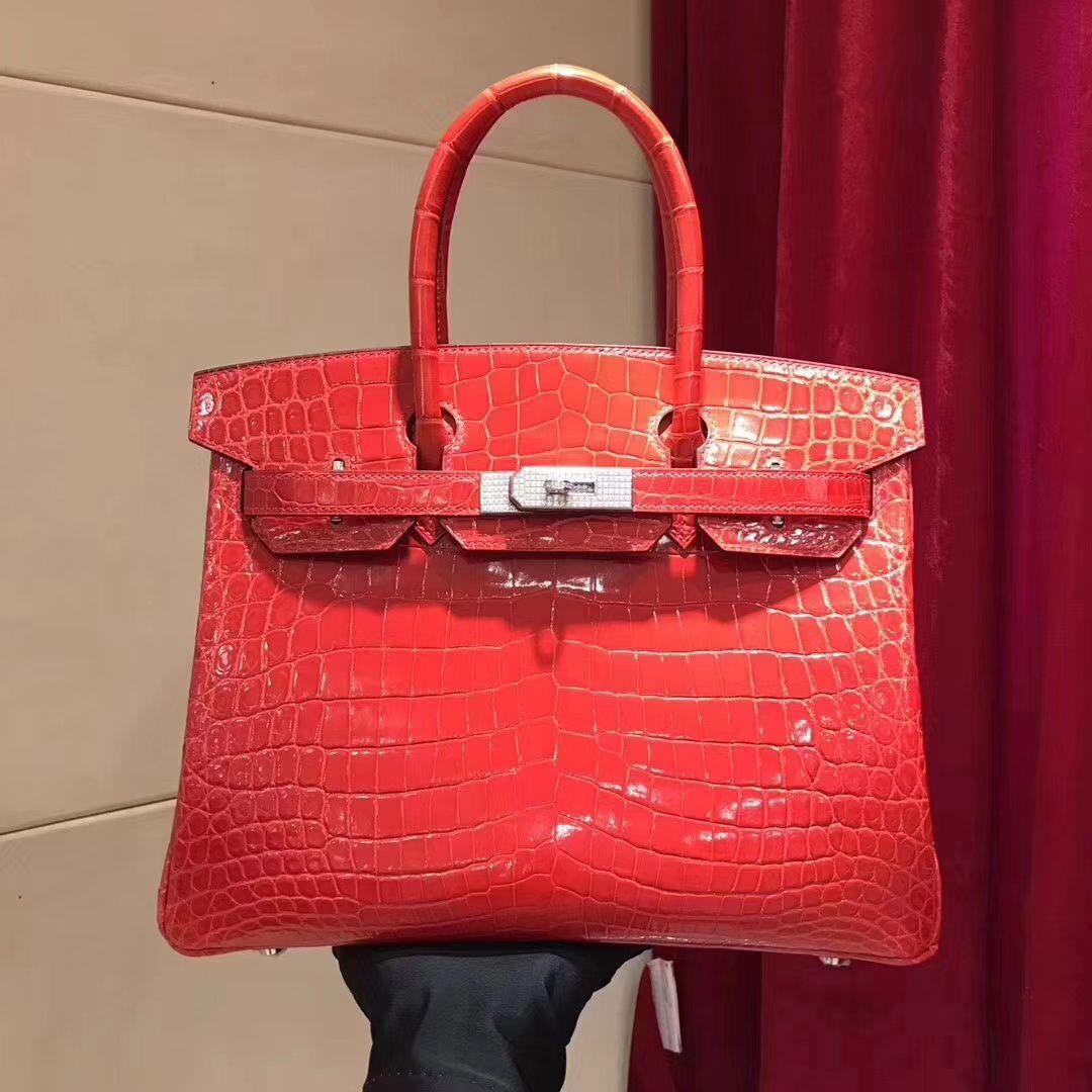 3fc4fa9a7f5b 17.Hermes-Diamond-Buckle-Crocodile-Leather-Birkin-Tote-Bag