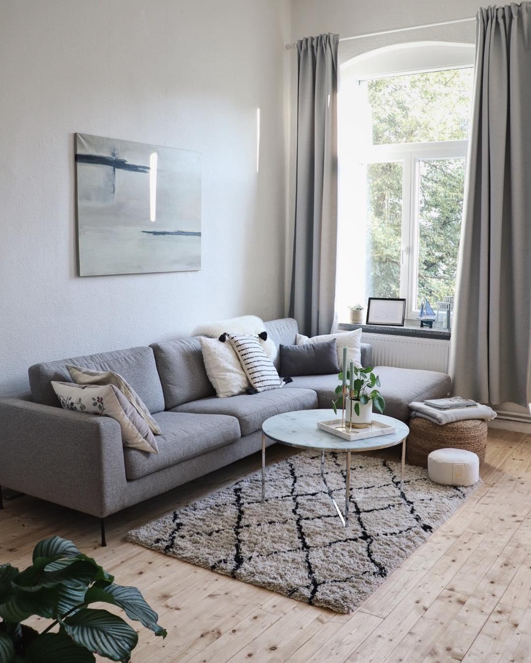 Das Highlight Dieses Traumwohnzimmers Eindeutig Der Couchtisch Antigua Marmor Ist Magie Denn Skandinavische Wohnraume Bauernhaus Wohnzimmer Zimmerdekoration