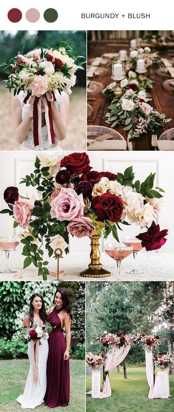 Top 10 Wedding Color Ideas For 2020 Trends Blush Wedding