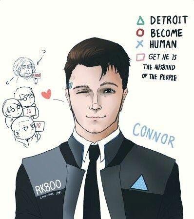 Detroit become human Connor, Hank, Kara and Markus   DBH