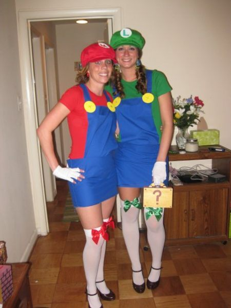 Homemade mario costume girls do it yourself pinterest homemade mario costume girls solutioingenieria Image collections