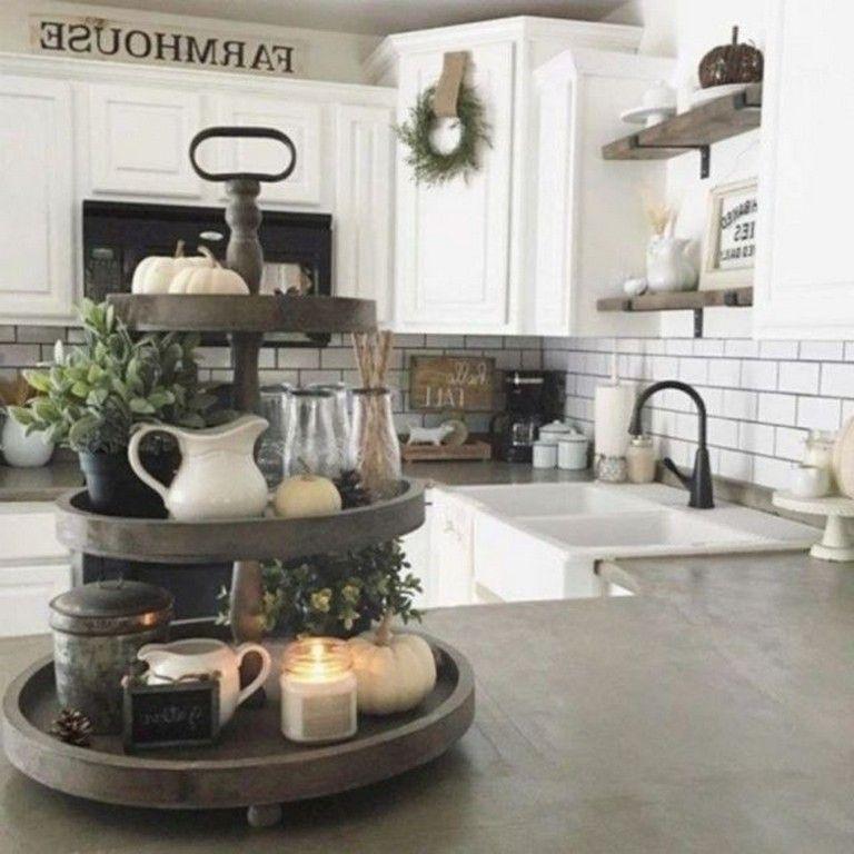 43+ Smart Rustic Farmhouse Kitchen Cabinets Remodel Ideas ... on Rustic:yucvisfte_S= Farmhouse Kitchen Ideas  id=71698